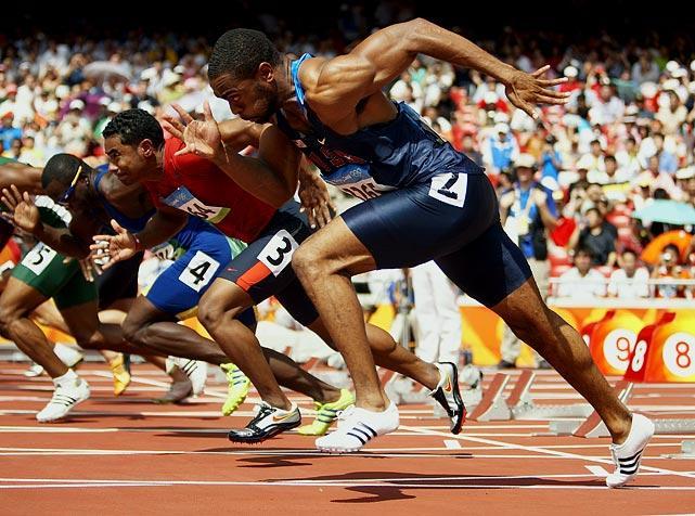 奥运跑步简笔画