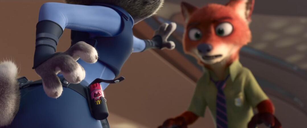 看《疯狂动物城》学地道口语:兔狐首次争吵