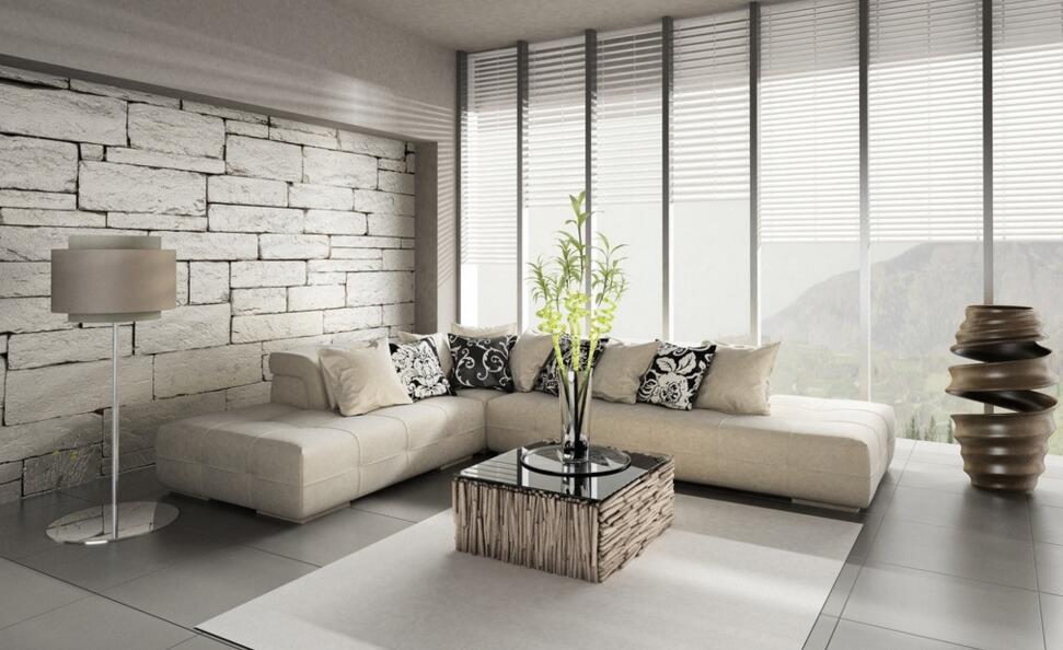 Wohnzimmer Beige Wei Design