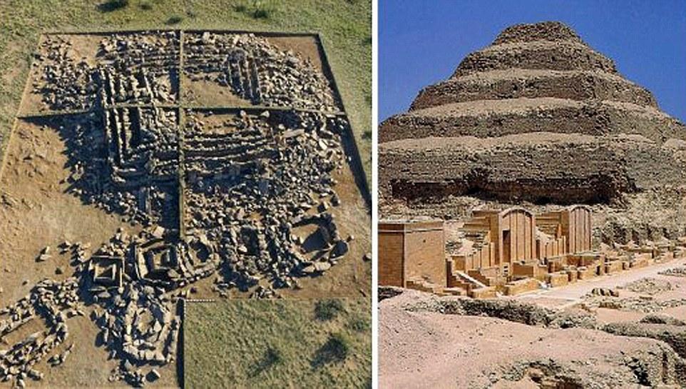 这次发现的金字塔与埃及著名的乔塞尔金字塔十分相似
