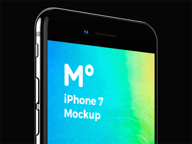 iphone 7 & iphone 7 plus展示模型psd