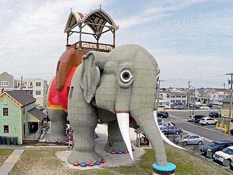 奇葩动物造型建筑:意外戳中萌点哈哈哈