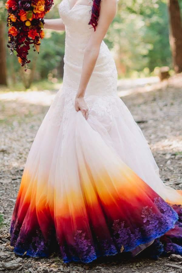 法语入门 时尚法语 超美婚纱 自己画的