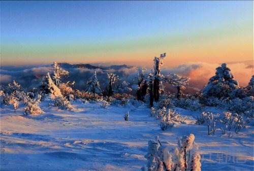 太白山雪景