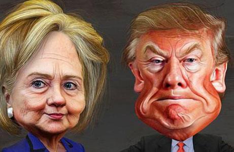 希拉里&川普总统辩论开战 看这90分钟都说了啥?