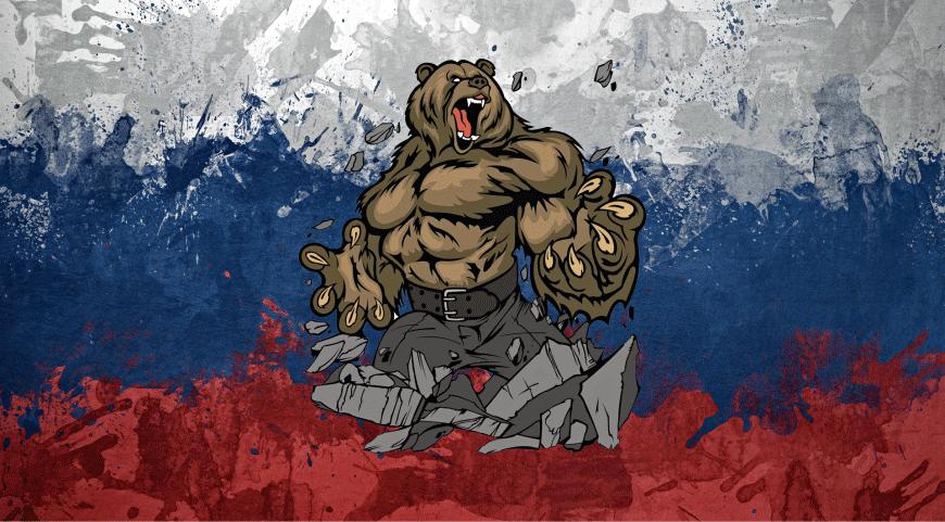 Фото флаг россии с гербом