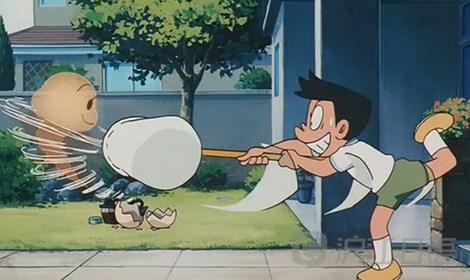 哆啦A梦 大雄与风之使者图片
