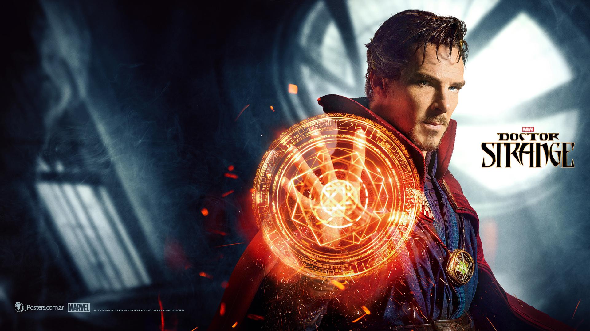 漫威最新英雄电影《奇异博士》(doctor strange)将在4号中美同步