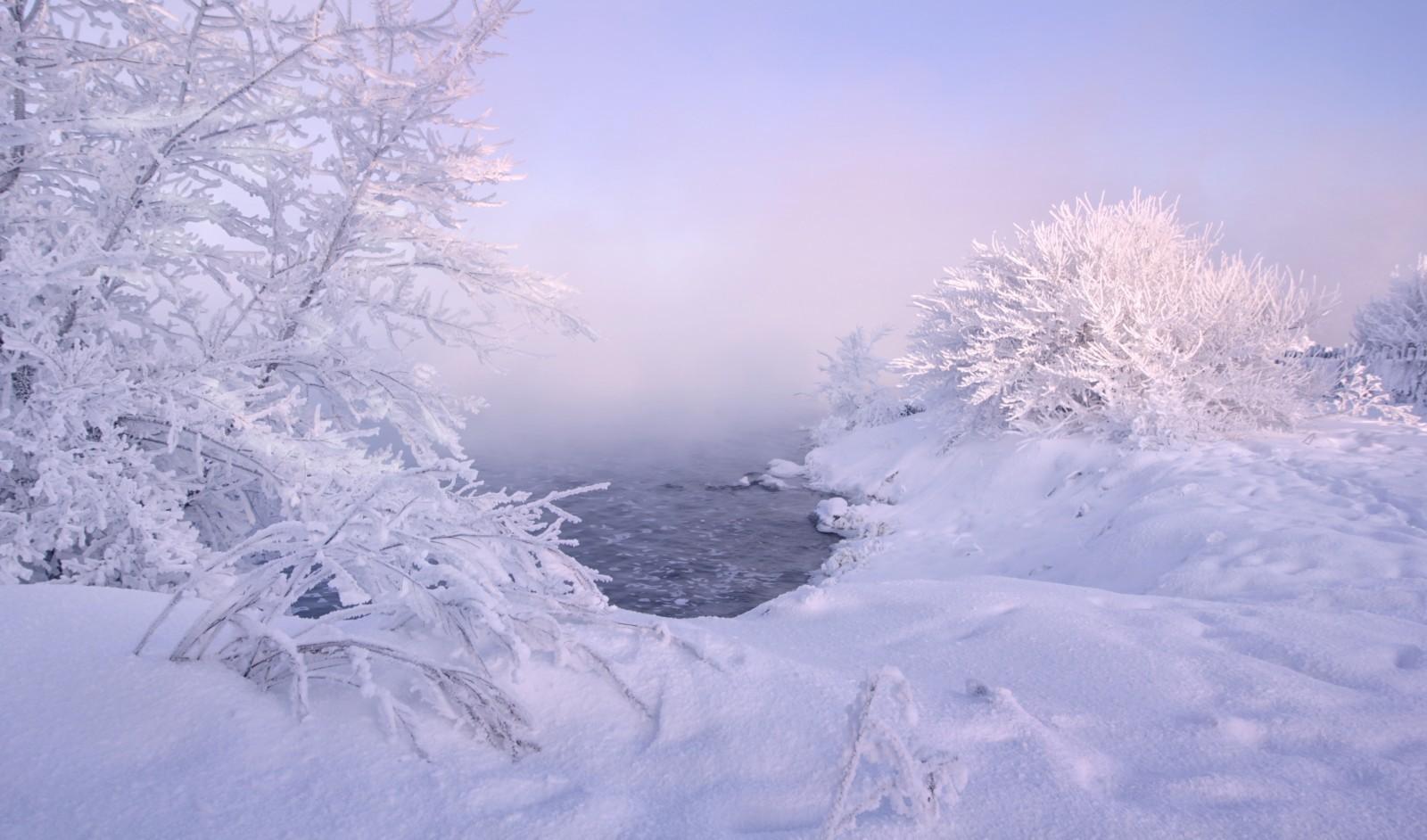 冰雪世界!俄罗斯各地的冬季雪景