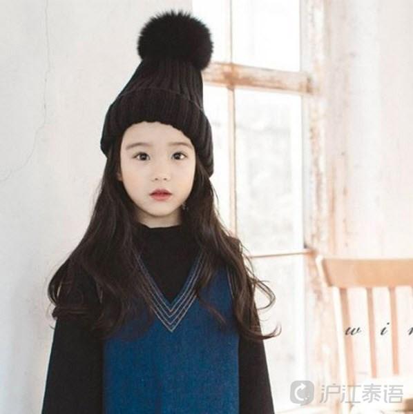 韩国著名童星模特