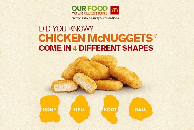 麦乐鸡每块都有英文名 吃麦当劳多年的你才造?