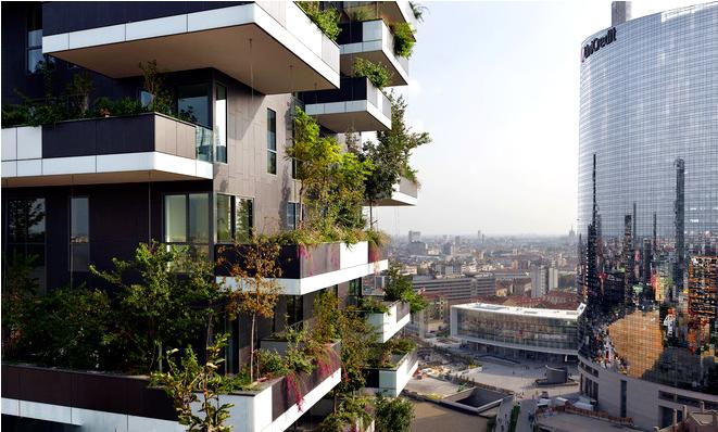 垂直森林:艺术与建筑的和谐共生