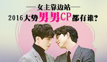 """2016年大势韩剧中最佳""""男男CP""""TOP5"""