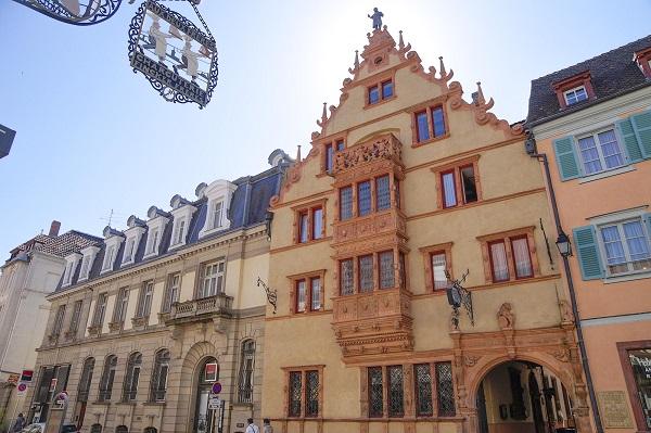 Maison des Têtes - Достопримечательности Кольмара