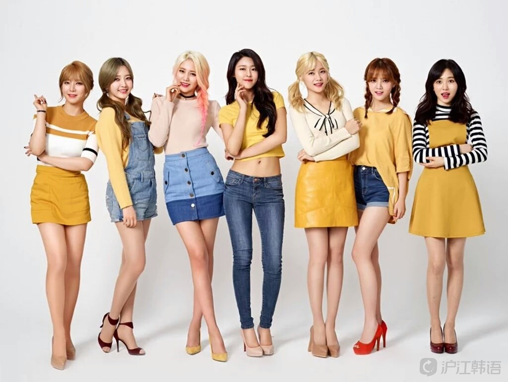 韩国女子组合推荐:aoa 活泼的表现不止于舞台和艺能