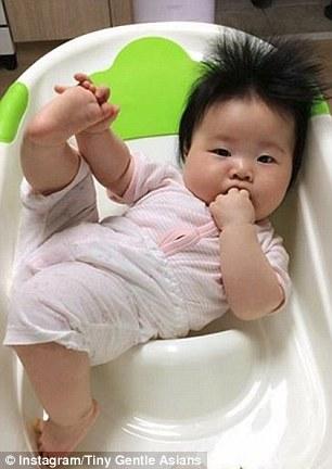 告诉你亚洲宝宝有多萌