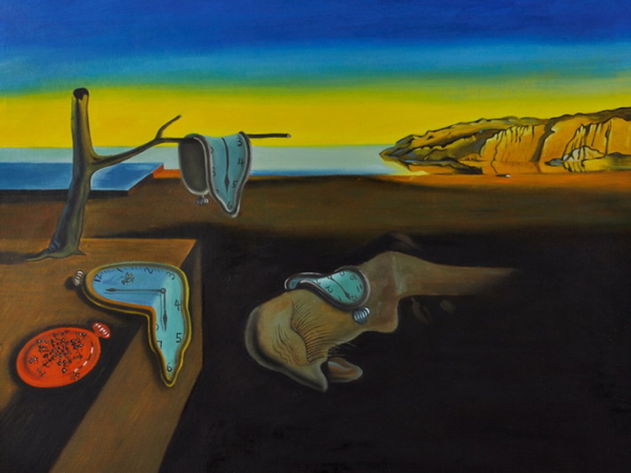 High Resolution Images Of Salvador Dali Painting With Watch