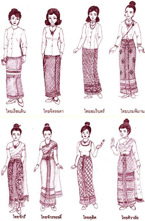泰式风格花纹壁纸贴图