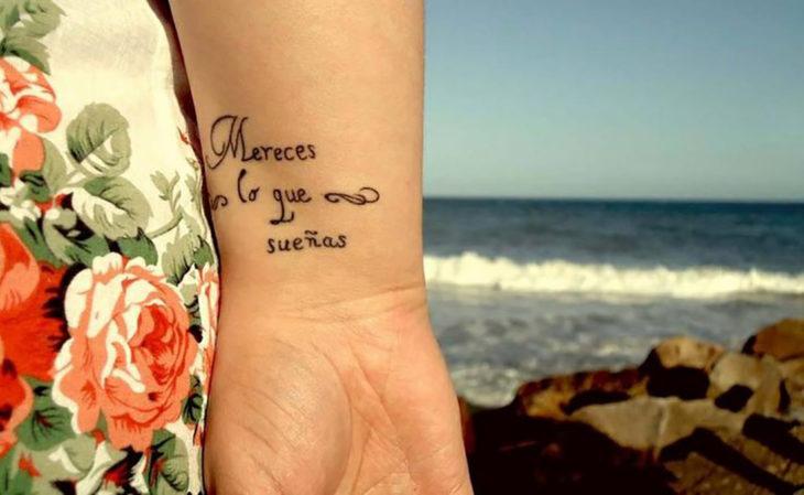 这么美的西班牙语纹身,你不想拥有一个吗?
