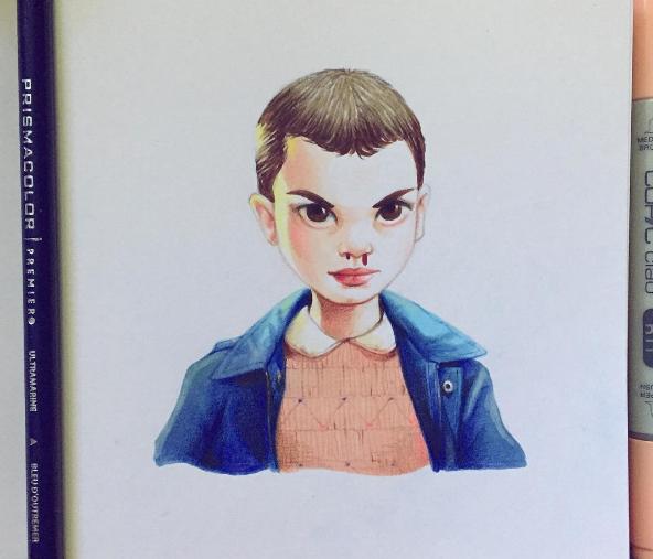 俄漫画漫画的经典缺失荧幕创意形象,看看你认v漫画美女画家图片