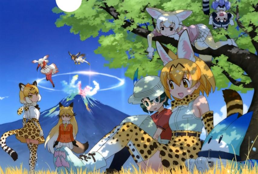 日本动漫推荐:兽娘动物园