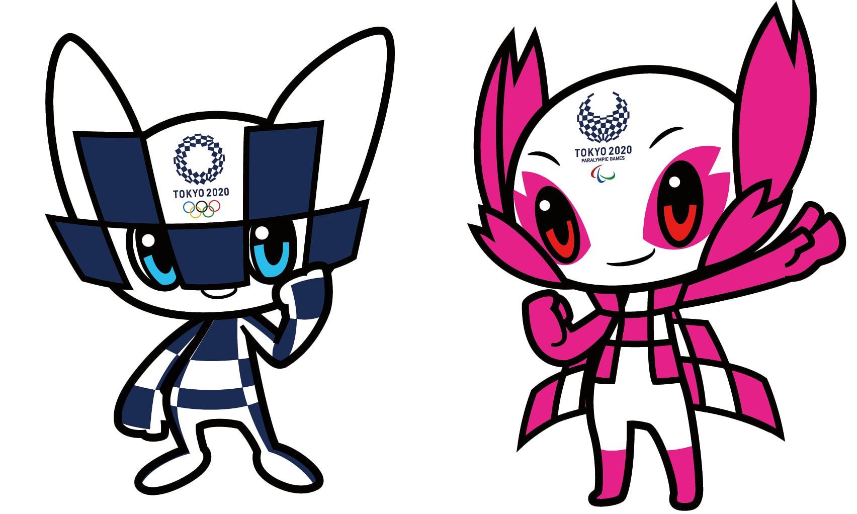 2020东京奥运会吉祥物揭晓,画风really神奇图片