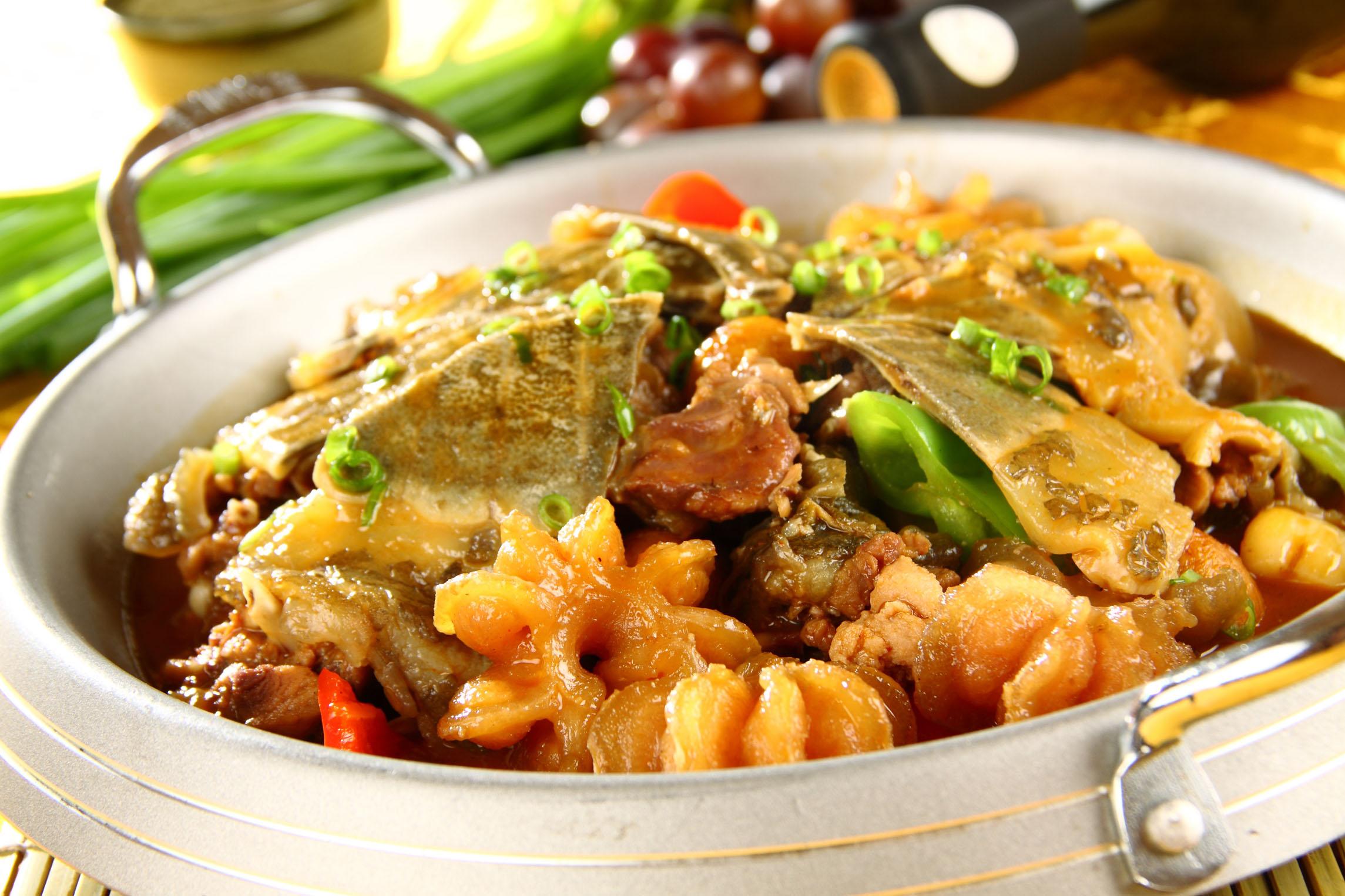 有道�yan_有道菜是甲鱼母鸡汤,可以说是很富有营养了.