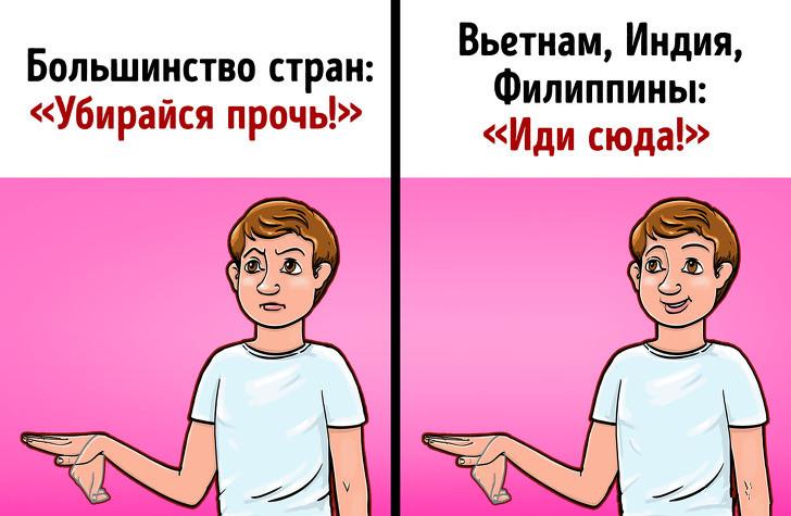 卡通人物做真棒的手势