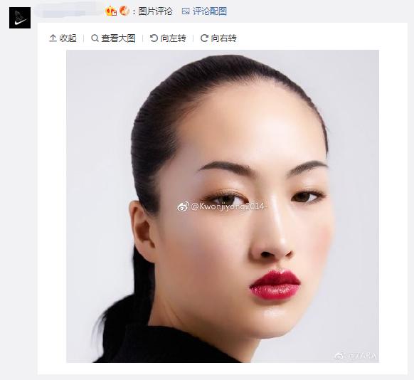 """居然选了一位有雀斑的亚洲人模特"""",""""zara是觉得全亚洲女性脸上都有"""