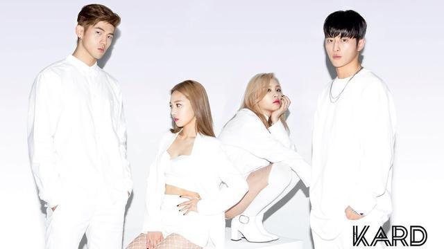 kpop   韩国大热混声组kard新歌中字mv
