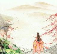 古代唯美诗词之六十一:香尘已隔犹回面,天涯地角寻思遍