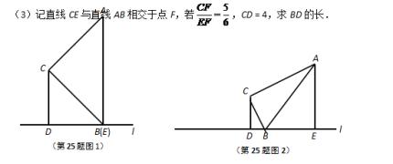 【中考复习】上海市2017年中考数学压轴题专项训练.