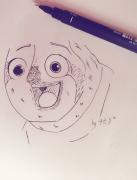【随手一画污染你 · 拾叁】 ((?(//?Д/?/)?))吖~我的眼睛!