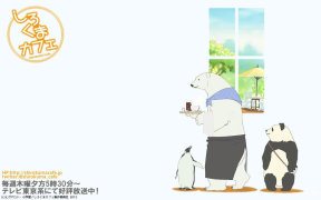 【16年1112合作区】极地动物:白熊カフェ(临摹)