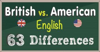 最全英、美语名词表述差异总结,附雅思词汇绿宝书电子版