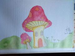 【2017年4月新手村】蘑菇:蘑菇屋