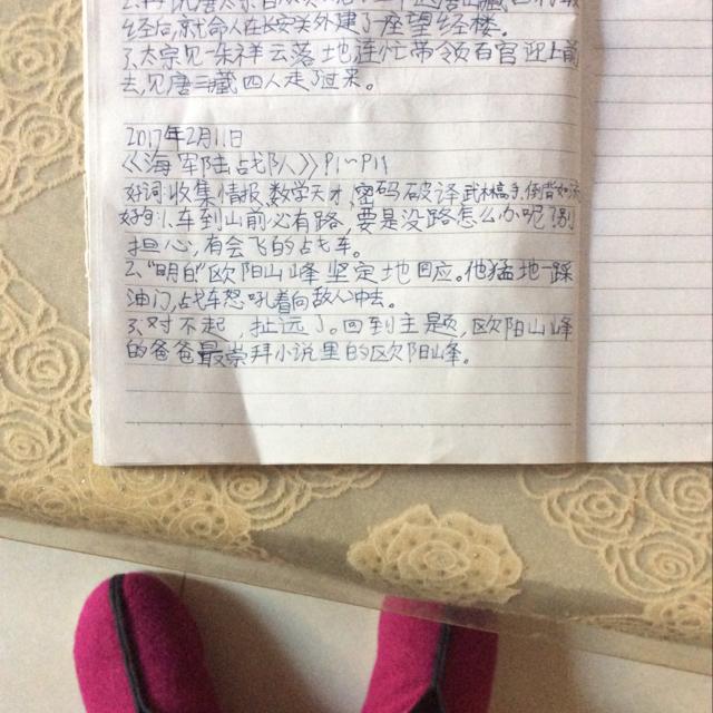 (西游记)2017读书笔记_常州市北郊小学_学习-