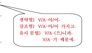 -V/A아/어서① (表示原因·理由)