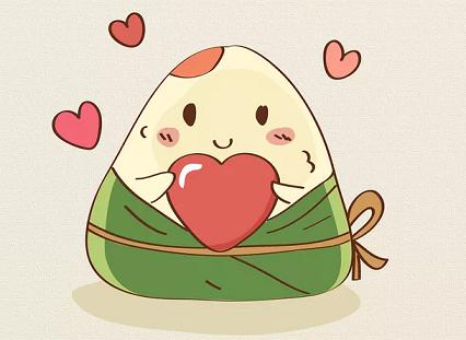 可爱的小粽子萌图