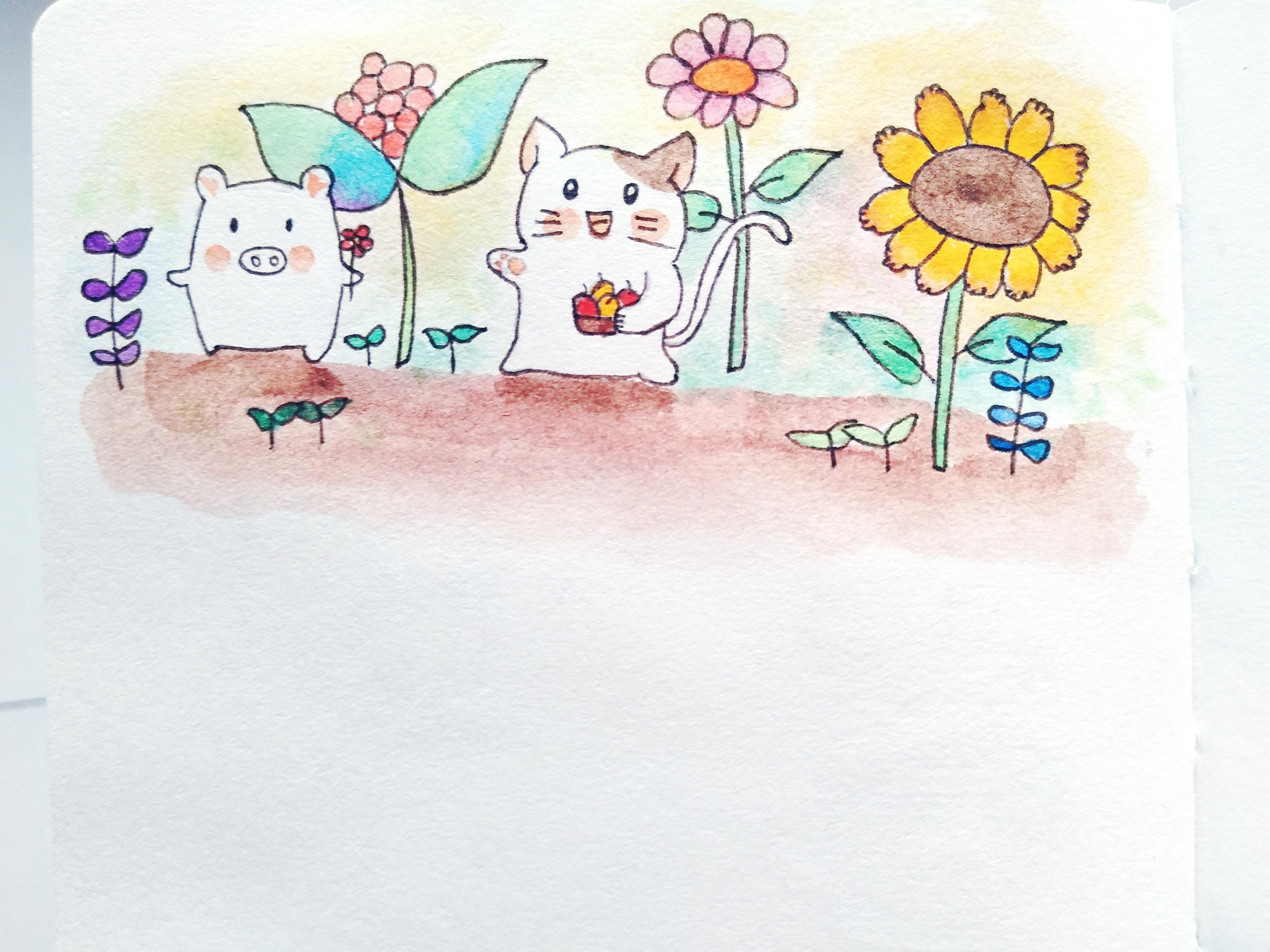 绘画社团海报素材背景