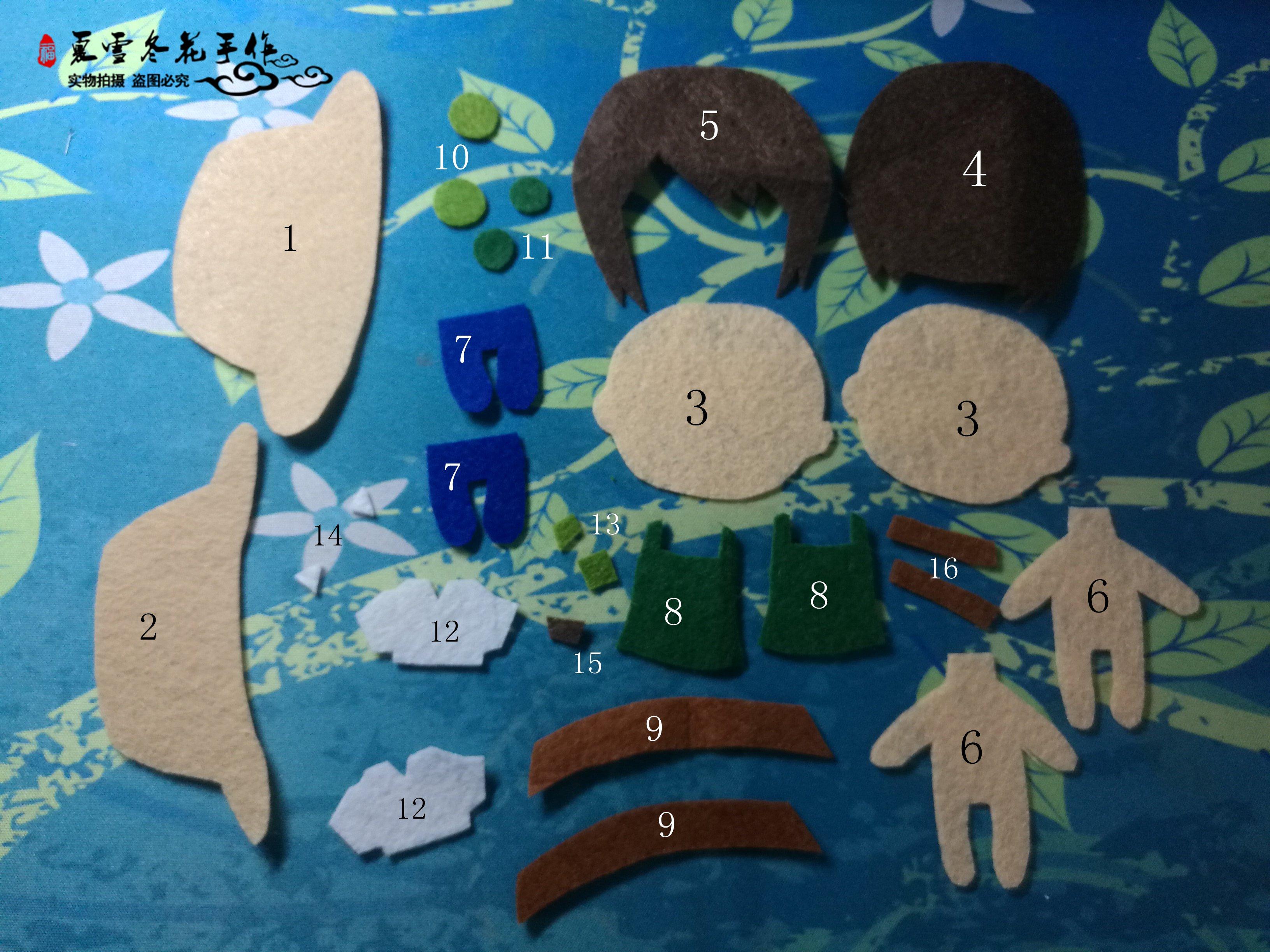 幼儿园手工制作纸围裙