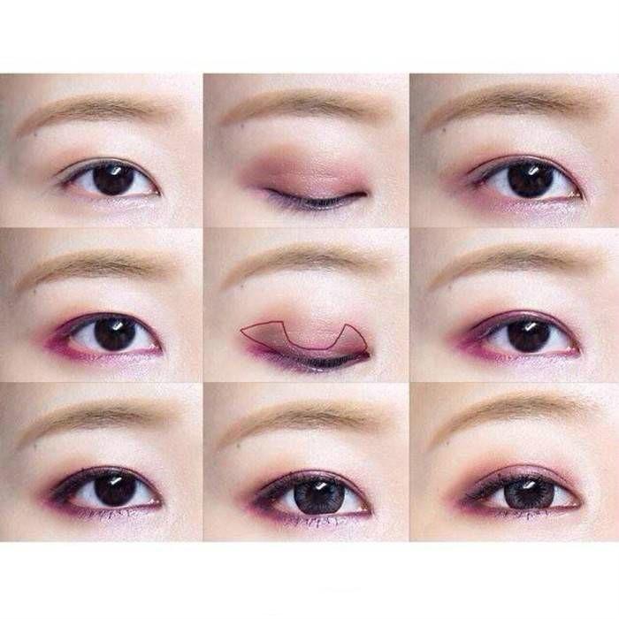 内双眼睛画眼线_内双怎么画眼线图解-