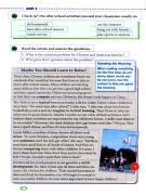英语八年级下册30页大课文 周五