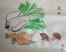 【17年4月新手村】写意蘑菇~~~