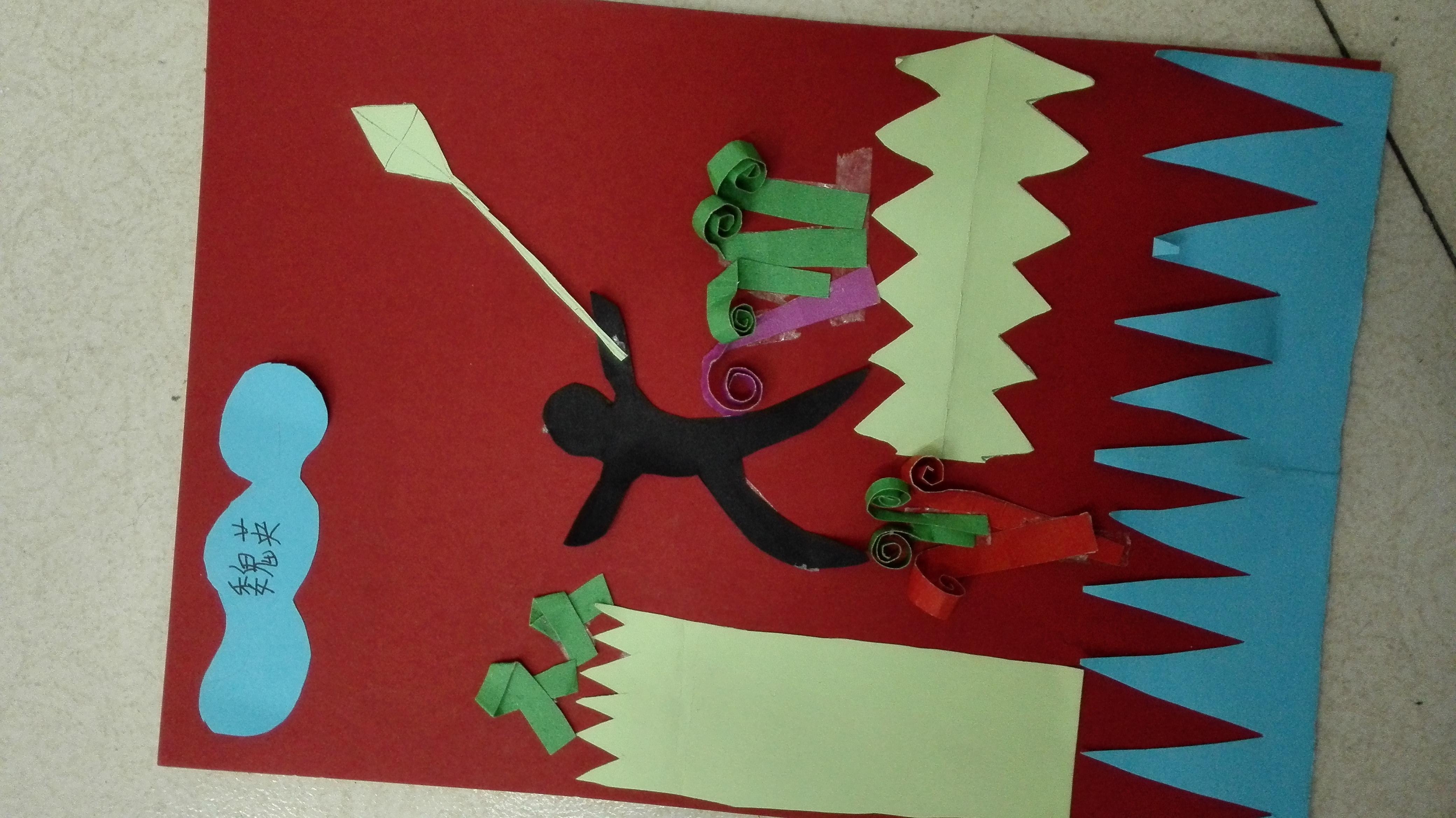 民族小学三年级美术手工制作作品