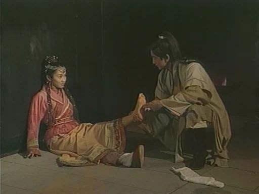 手绘古代江湖女子