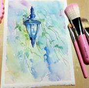 【17年2月合作区】灯: Wandlampe