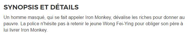 170418【didi 法语影视厅】《 Iron.Monkey.2009》 法语版