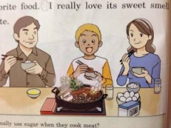 日本英语教科书好正,早这样我就不会乱画课本了呀