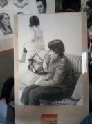 第一次画这么大的画